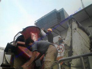 Pengaplikasian Waterproofing Integral SIKA