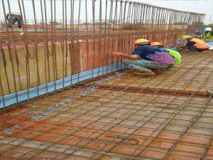 PEmasangan Waterstop PVC