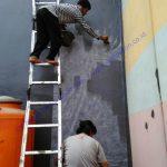 aplikasi waterproofing coating dinding