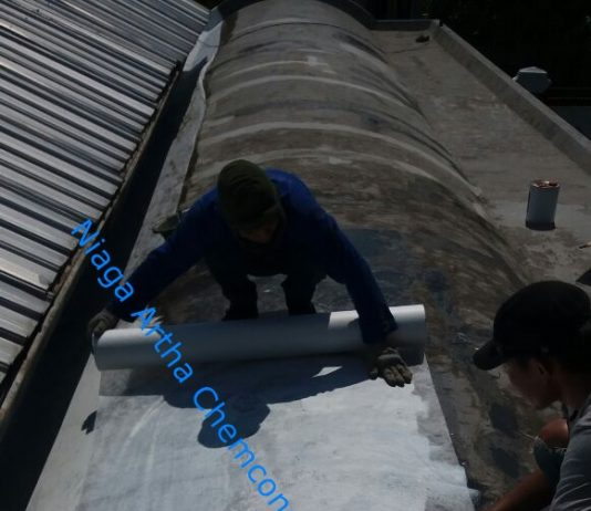waterproofing coating atap rumah