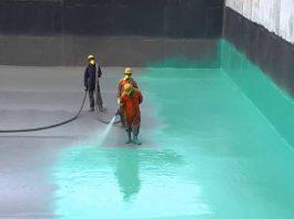 waterproofing polyurea coating