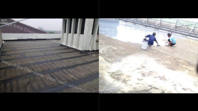 Aplikator Waterproofing Rooftop