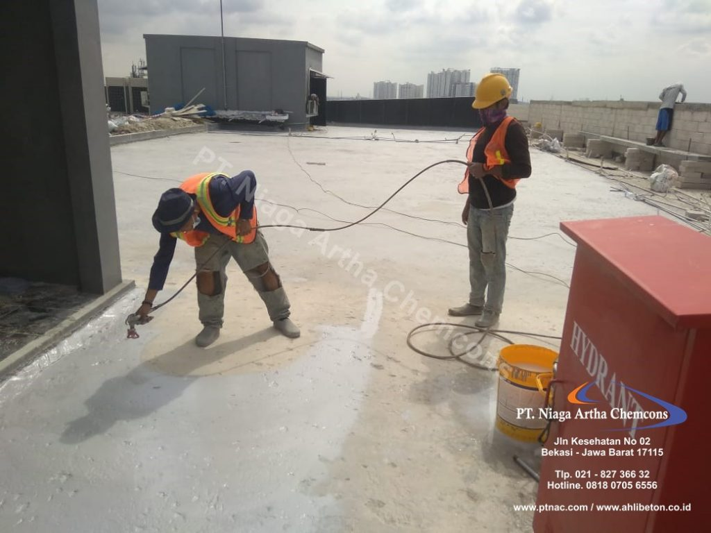 Jasa Waterproofing Coating Gedung